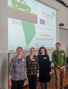 KTU participated in EV ENERGY project meeting in Stockholm