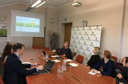 Interreg Europe project BIGDATA4RIVERS was presented at the Ministry of the Environment